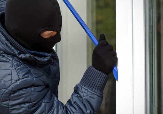 Alarmton verschreckt Einbrecher