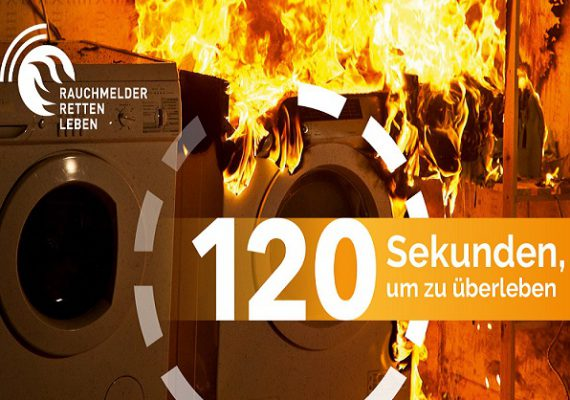 Freitag der 13.09. ist Rauchmeldertag