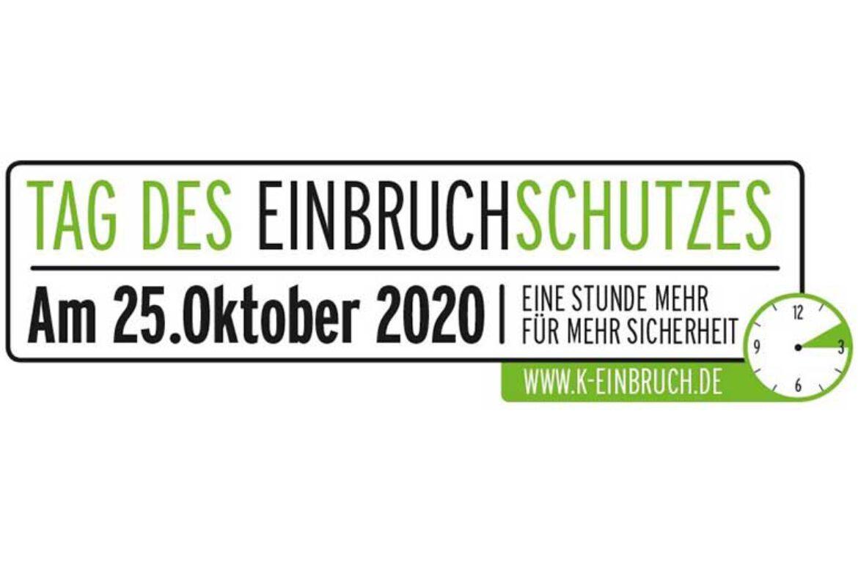 25. OKTOBER 2020 – TAG DES EINBRUCHSCHUTZES